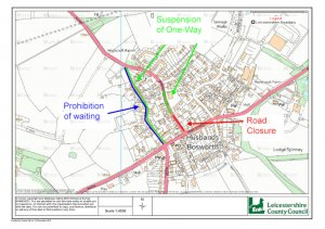ADVANCED NOTICE OF ROAD CLOSURE AND RESTRICTIONS