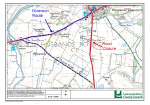 ADVANCED NOTICE OF ROAD CLOSURE - 17TH MARCH