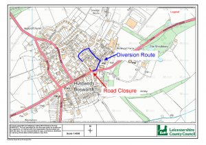 ADVANCED NOTICE OF ROAD CLOSURE - 25-28TH MARCH