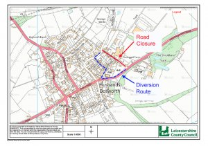 ADVANCED NOTICE OF ROAD CLOSURE - 26th JULY