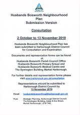 Husbands Bosworth Neighbourhood Plan Consultation