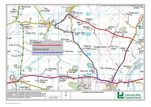Proposed Road Closure - Likely delays along A4304  20-27 Jan 2020