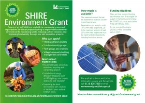 New Grant to fund Environmental Projects
